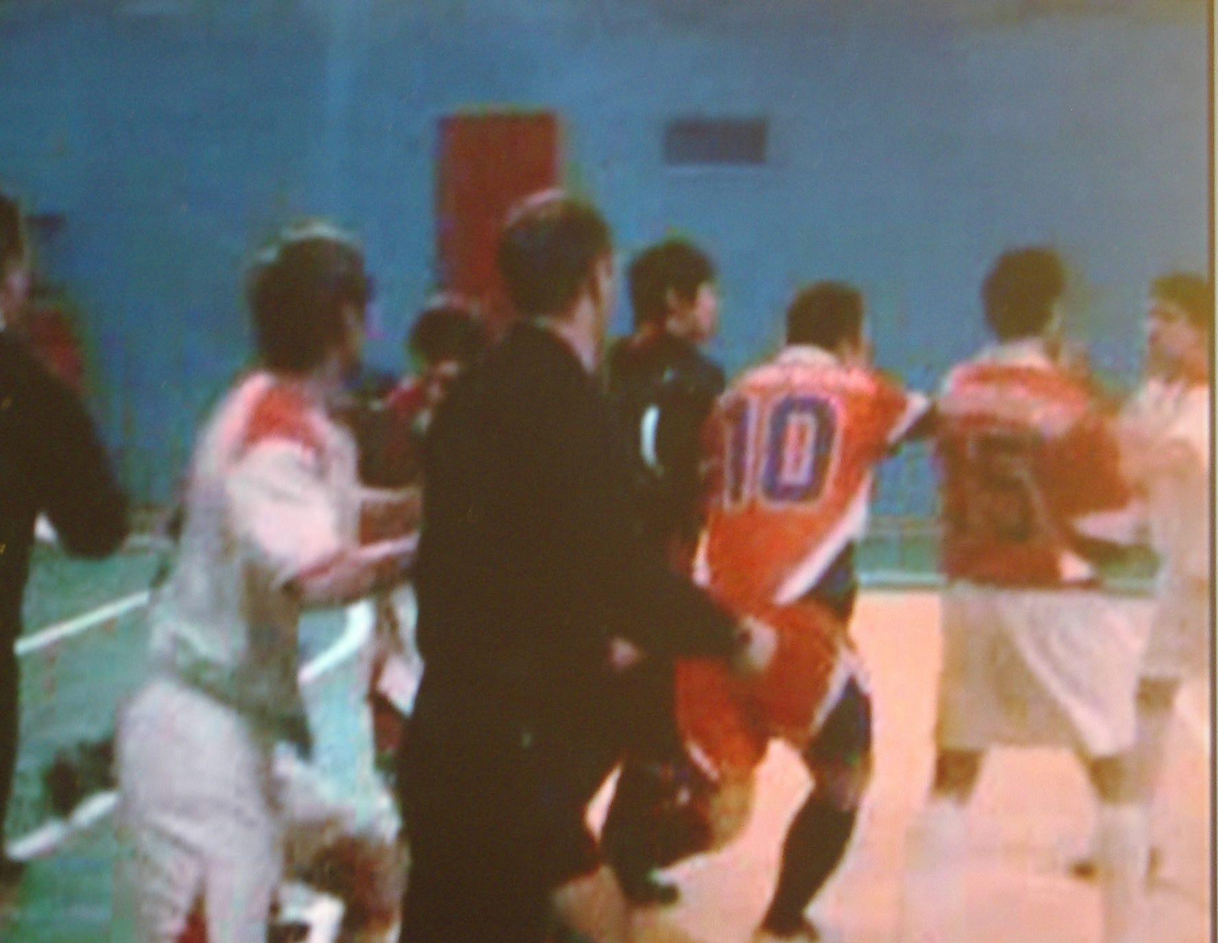 драка между футболистами ФК «Малинники» и «Молодой гвардии»